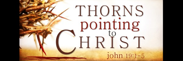 thorns pointing to christ