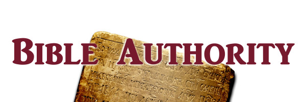 bible authority - banner