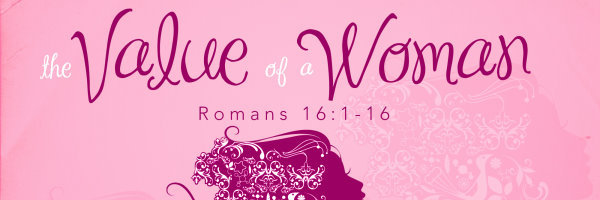 value of a woman - banner