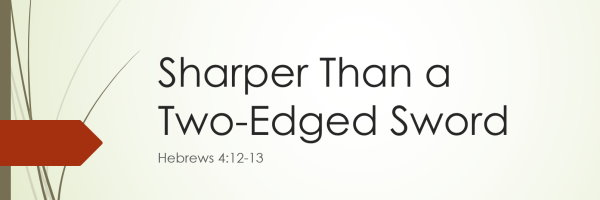 sharper than two edged sword