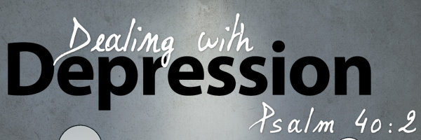 dealing with depression banner