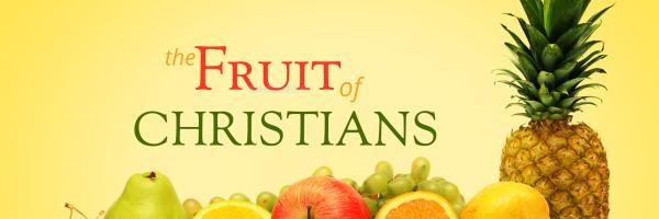 fruit of christians