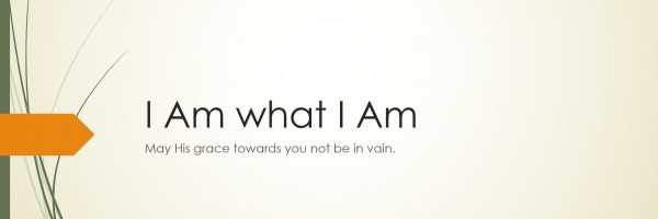 i am what i am - banner